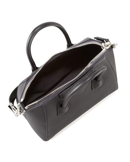 2917934ffe72 Givenchy Antigona Small Sugar Goatskin Satchel Bag