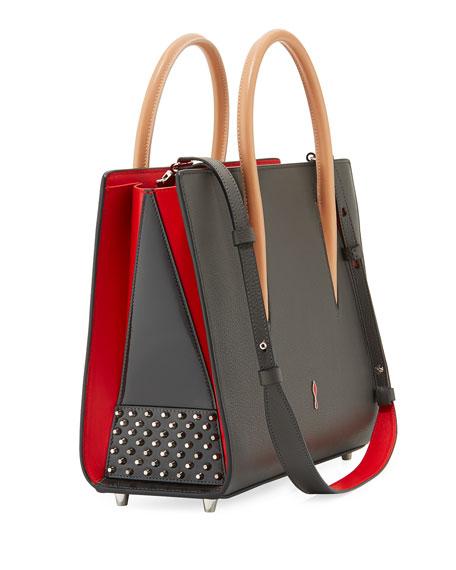 Paloma Medium Spike Leather Tote Bag