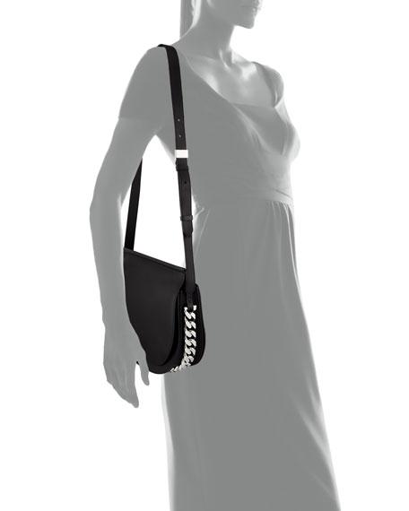 Infinity Chain-Trim Saddle Bag