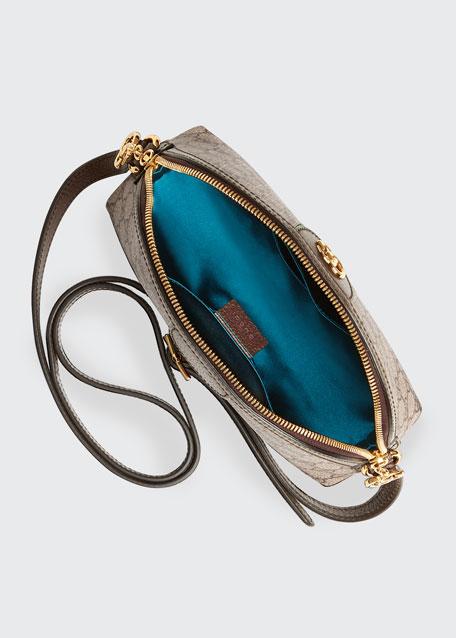 Ophidia Linea Dragoni GG Supreme Canvas Small Shoulder Bag