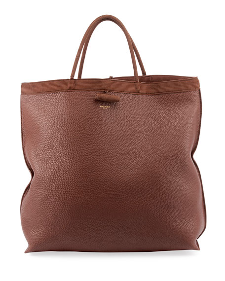 Image 1 of 1: Patti Large Leather Tote Bag