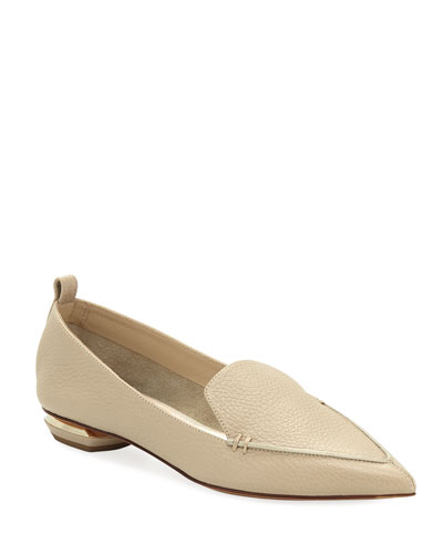 Beya Leather Loafer  Sand