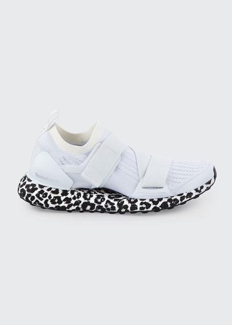 Ultraboost X Fabric Sneakers, White/Black