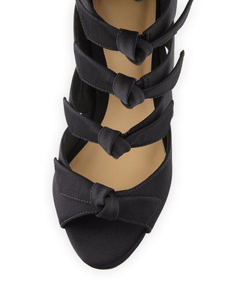 Fetish Over-The-Knee Gladiator Sandals