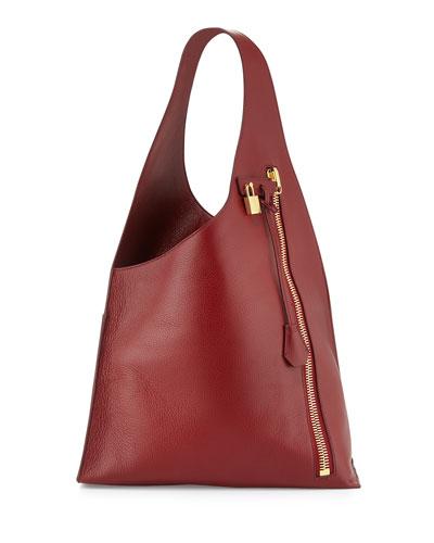 Alix Zip Hobo Bag