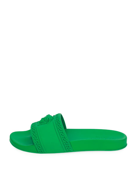 Men's Medusa & Greek Key Shower Slide Sandals