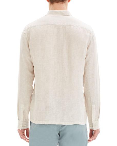 Men's Murray Summer Linen Long-Sleeve Sport Shirt