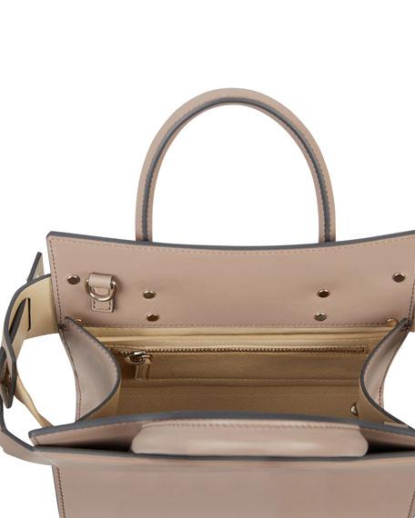 Horizon Mini Smooth Leather Tote Bag