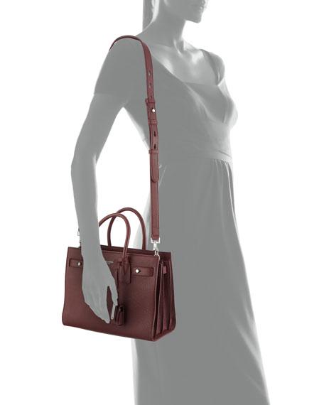 Saint Laurent Sac de Jour Baby Supple Bonded Leather Tote Bag 2a3710ea3cbd9