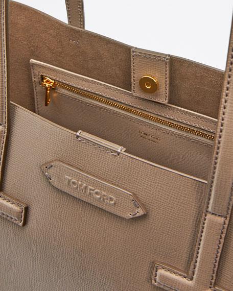 Saffiano Leather Small T Tote Bag