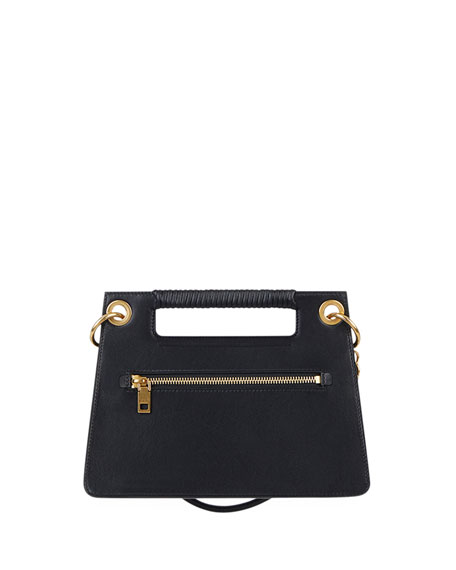 Whip Small Smooth Leather Shoulder Bag