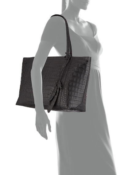 Erica Crocodile Tote Bag