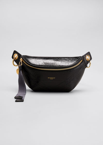 Leather Chained Belt Bag