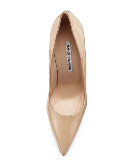BB Patent 105mm Pointed-Toe Pump