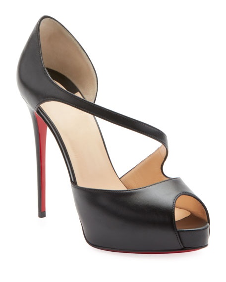 Image 1 of 1: Catchy Two Red Sole Pumps