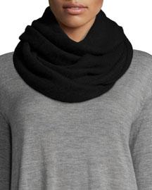Cashmere Infinity Scarf, Black