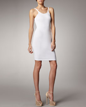 T by Alexander Wang Formfitting Tank Dress