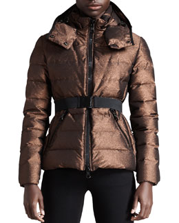 Moncler BG 111th Anniversary Metallic Puffer Jacket