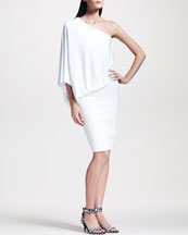 Givenchy One-Shoulder Jersey Dress