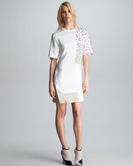 3.1 Phillip Lim Patchwork T-Shirtdress
