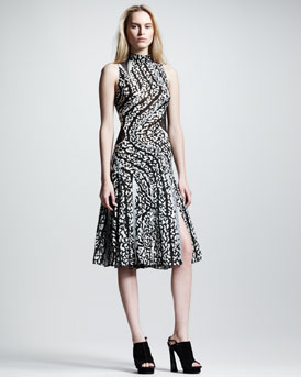 Proenza Schouler Sleeveless Pieced Dress