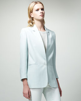 Stella McCartney One-Button Jacket