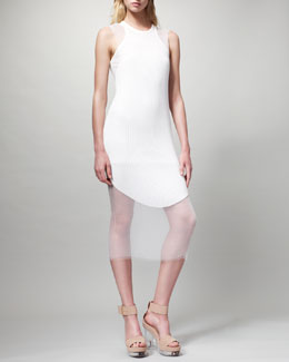 Stella McCartney Sleeveless Ribbed Dress
