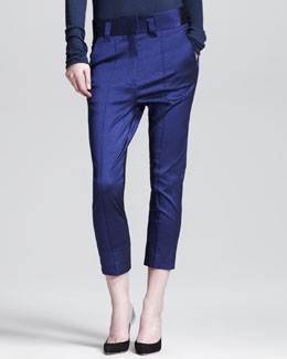 Haider Ackermann Slouchy Cropped Pants