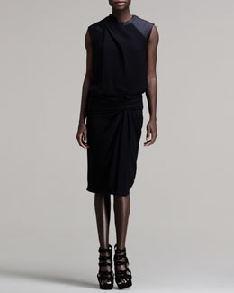 Alexander Wang Twisted Muscle Tee Dress