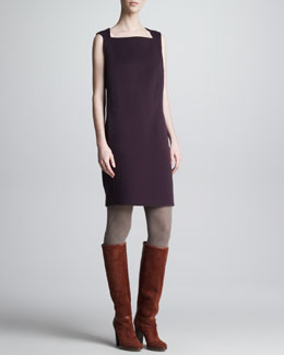 Loro Piana Cristyn Cashmere Sleeveless Dress