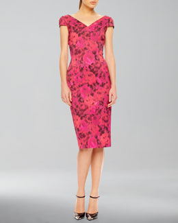Michael Kors Floral-Print Dress