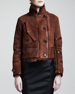 Belstaff Kenton Shearling Jacket