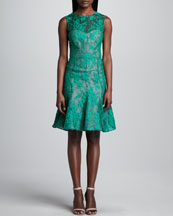 Erdem Sleeveless Lace Dress