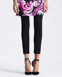 Emilio Pucci Ankle-Length Leggings