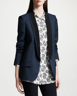 Stella McCartney Layer-Collar Blazer