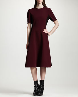 Stella McCartney Two-Tone A-Line Dress