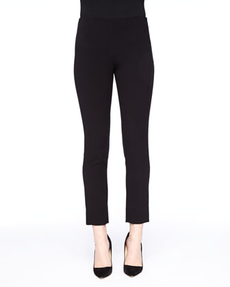 Cropped Catharine Pants, Black