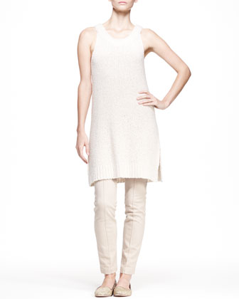 Long Boucle Tank Dress
