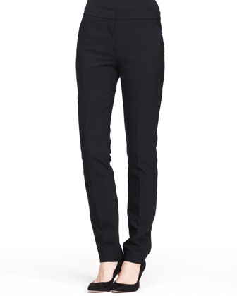 Stretch-Scuba Skinny Pants