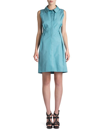 Rucola Shantung Shirtdress