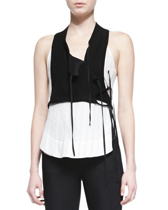 Noemi Strappy Vest Top