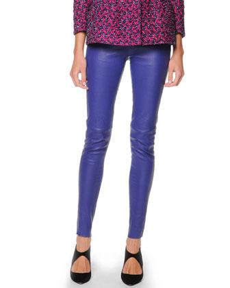 Leather Leggings, Iris