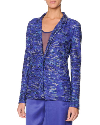 Swarovski Crystal Jacket, Persian Blue