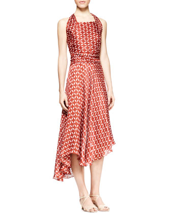 Loam Printed Halter Dress