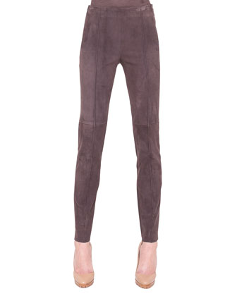 Melissa Slim Stretch Leather Pants