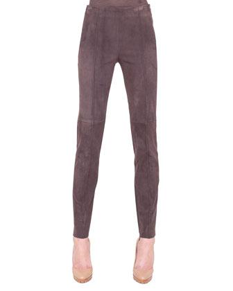 Melissa Slim Stretch Leather Pants
