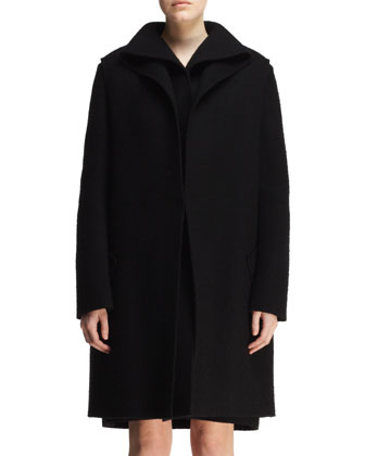 Double-Layer Folded Coat