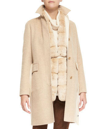 Winter Lanford Cashmere Coat