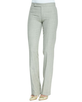 Skylar Wool Flare Pants