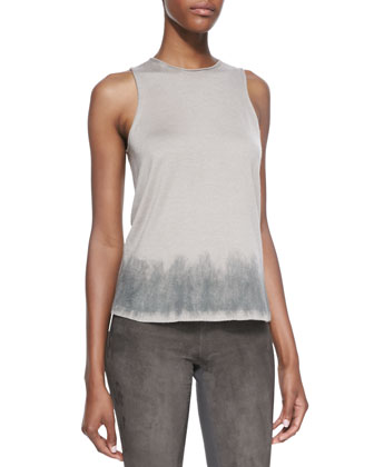 Sleeveless Top, Putty